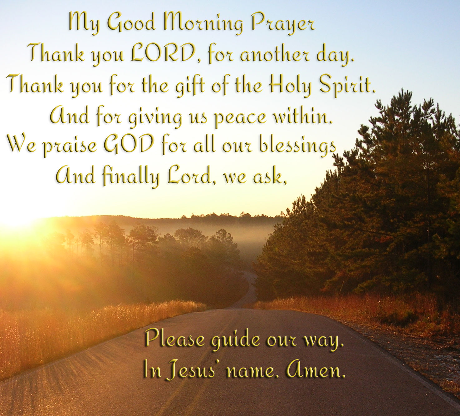 Good Morning Christian Quotes: My Good Morning Prayer Pictures, Photos, And Images For