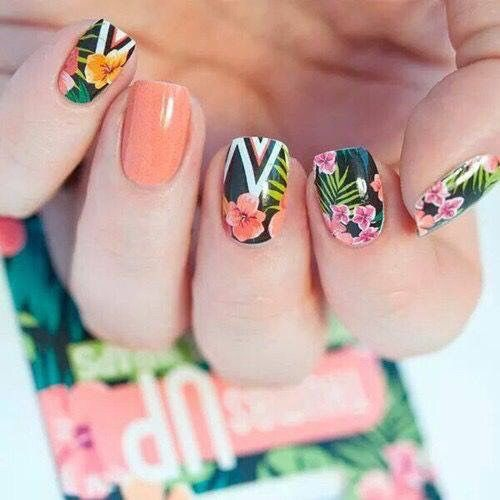 Tropical Nails Pictures, Photos, And Images For Facebook