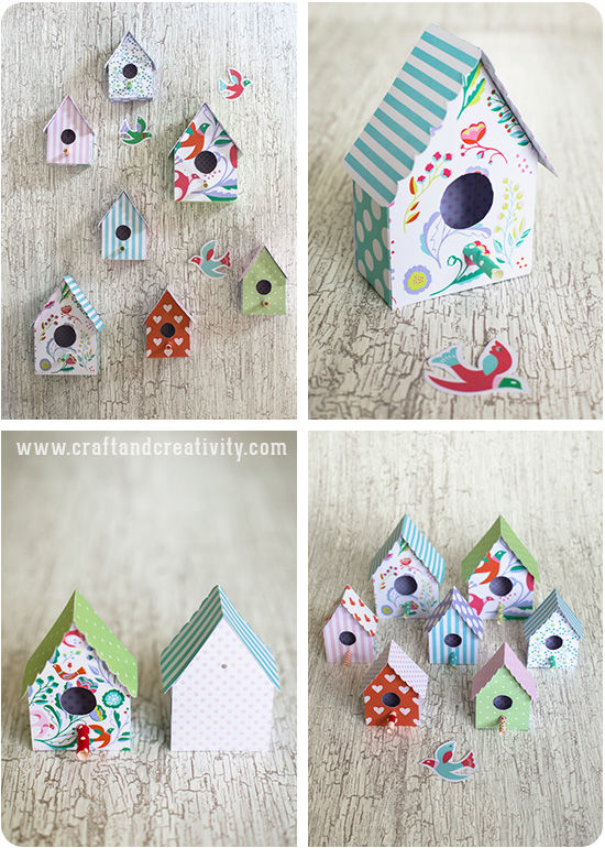 Paper Birdhouse Pictures Photos And Images For Facebook