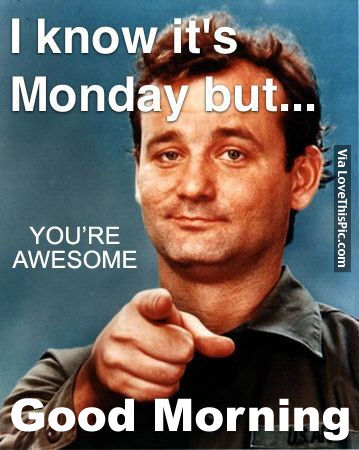 I Know It's Monday But...Good Morning Pictures, Photos ...