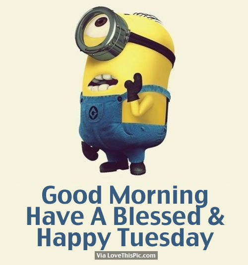 Good Morning Have A Blessed Happy Tuesday