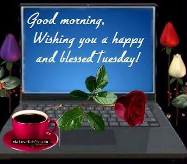 Good Morning Wishing You A Happy And Blessed Tuesday