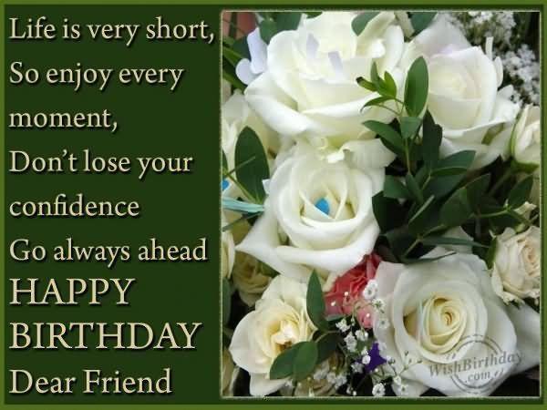 Happy Birthday Dear Friend