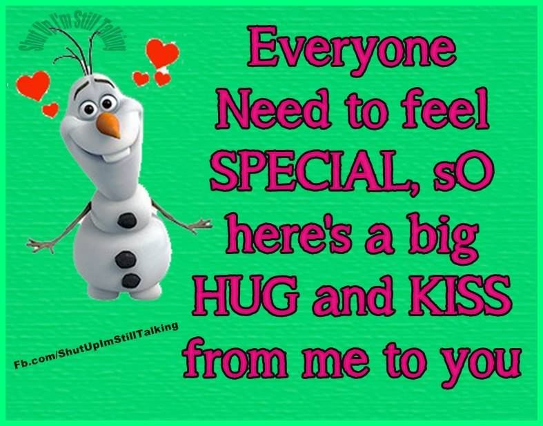 Here Is A Big Hug And Kiss From Me To You Pictures Photos