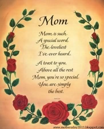 Mom Poem For Mother's Day Pictures, Photos, and Images for ...