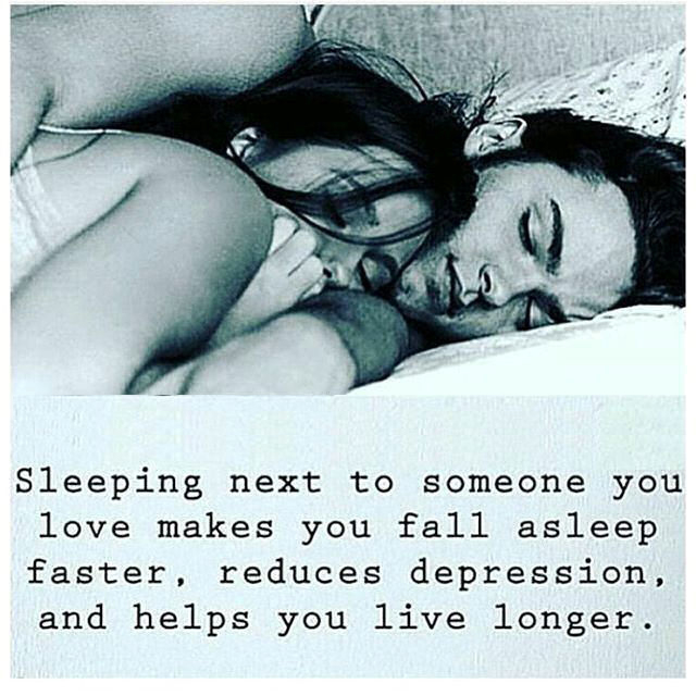 Sleeping Next To Someone You Love Makes You Fall Asleep ...