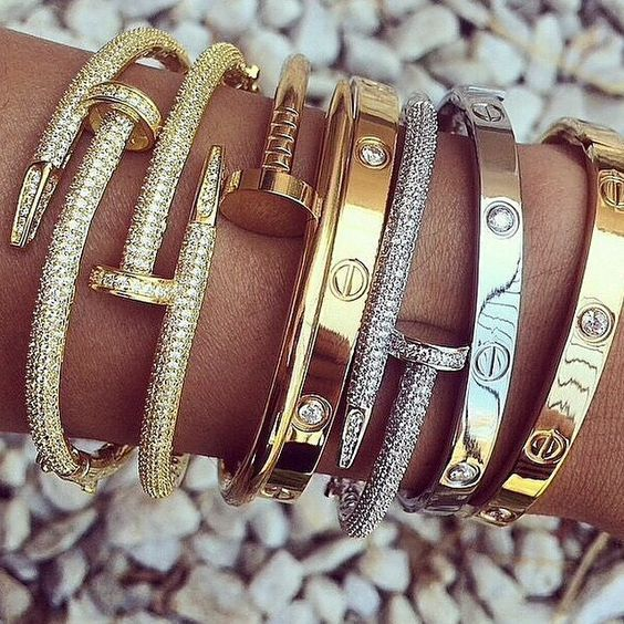 Gold And Silver Bracelets Pictures Photos And Images For