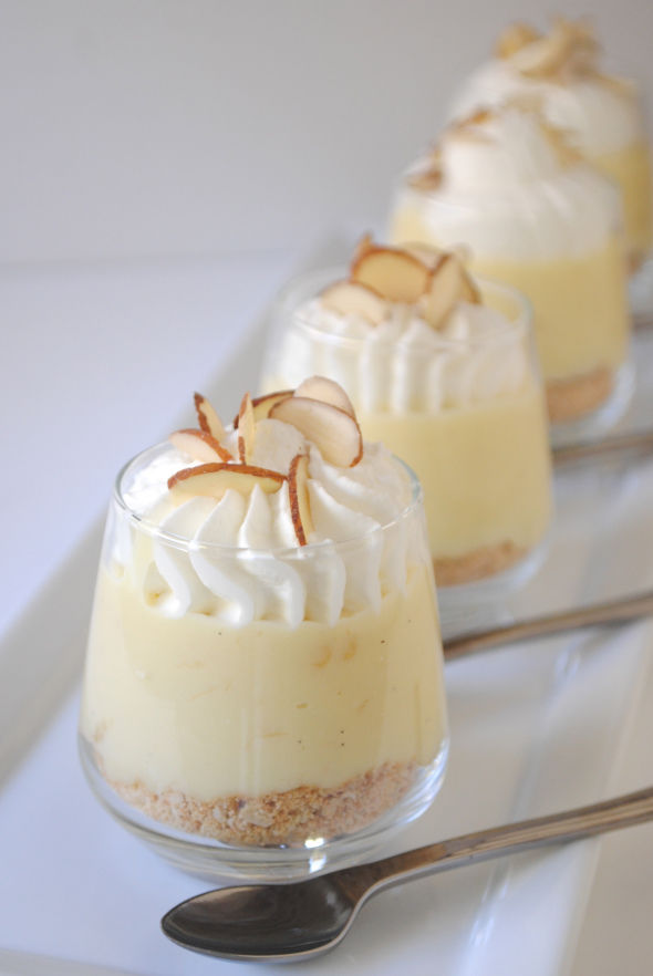 Banana Cream Pie Dessert Shooters Pictures Photos And