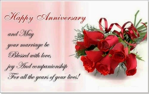 42nd Wedding Anniversary Quotes: Happy Anniversary And May Your Marriage Be Blessed With