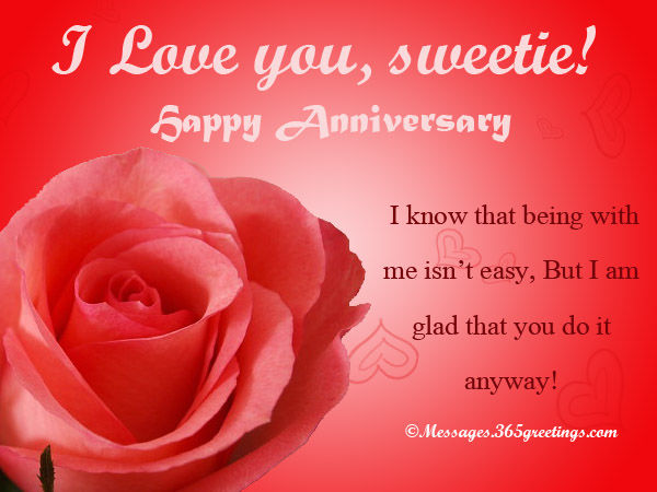 i love you sweetie happy anniversary pictures photos