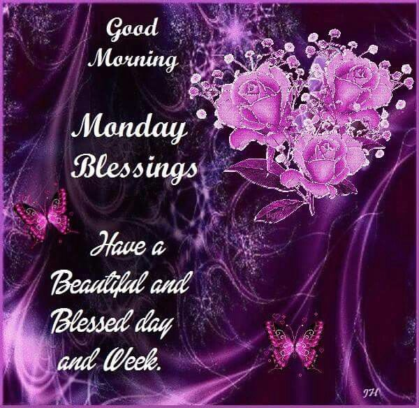 Good Morning Monday Have A Blessed Week Images The Emoji