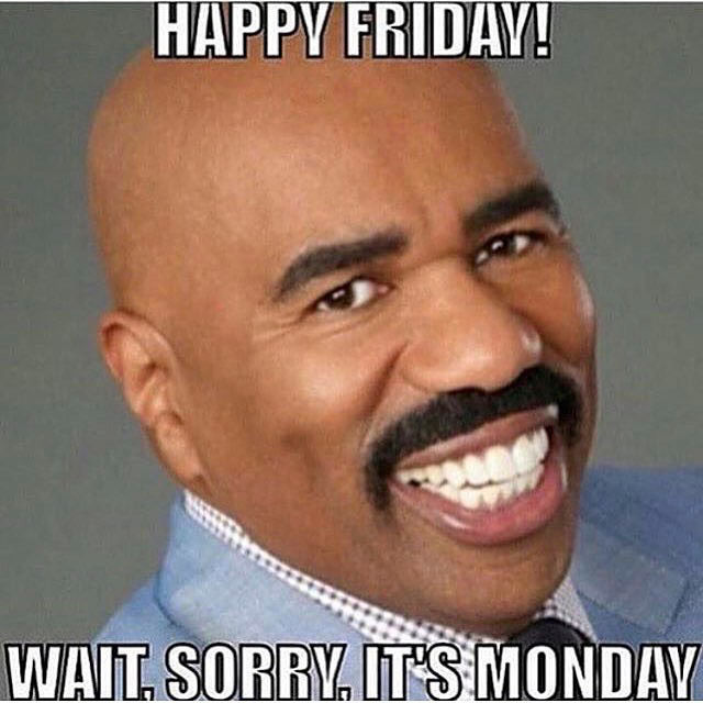 254063 Happy Friday Wait Sorry Its Monday happy friday! wait, sorry its monday pictures, photos, and images