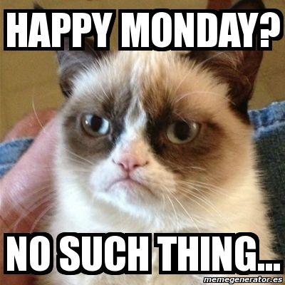 254066 No Such Thing As Happy Monday no such thing as happy monday pictures, photos, and images for