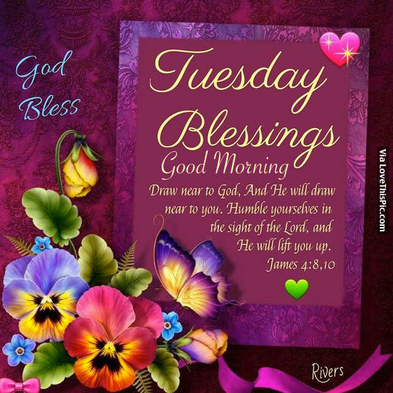 Tuesday Blessings, Good Morning Pictures, Photos, and Images for ...