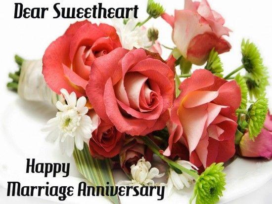Great Dear Sweetheart, Happy Marriage Anniversary