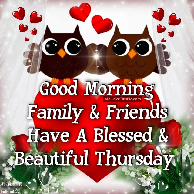 Good Morning Beautiful Family : Beautiful thursday morning quotes imgkid the