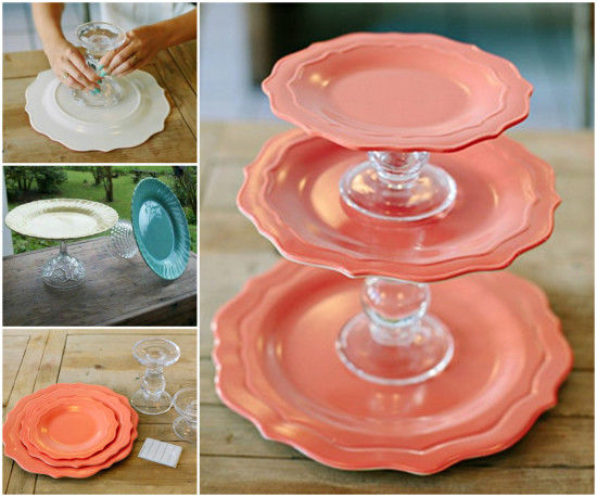 Diy Cake Stand Tutorial Pictures Photos And Images For