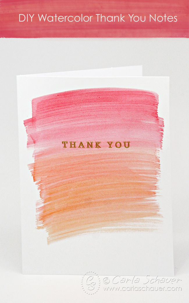 Watercolor Thank You Notes Pictures, Photos, and Images
