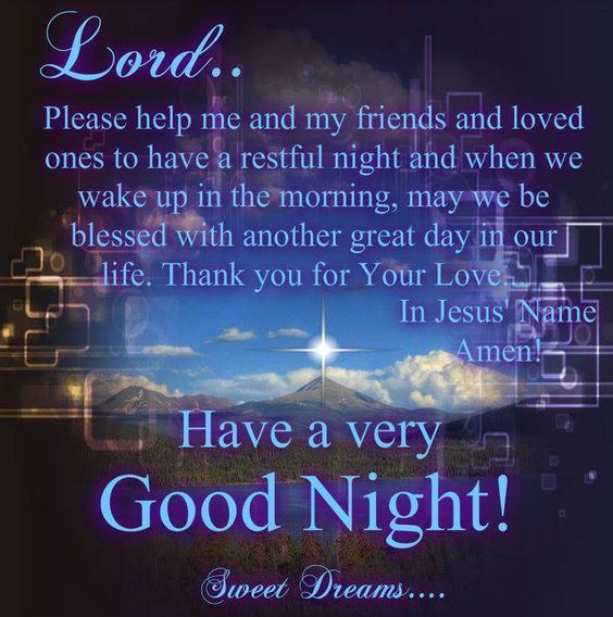 Good Night Prayer For Friends amp Family Pictures Photos