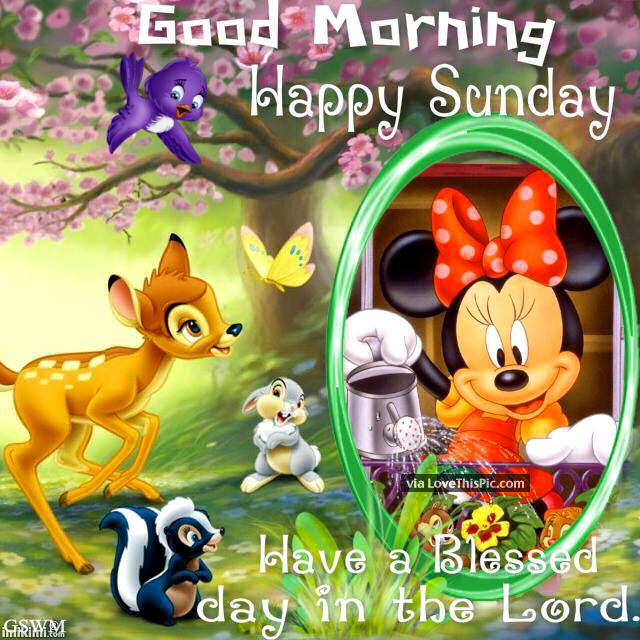 Disney Mothers Day Quotes: Disney Sunday Good Morning Quote Pictures, Photos, And
