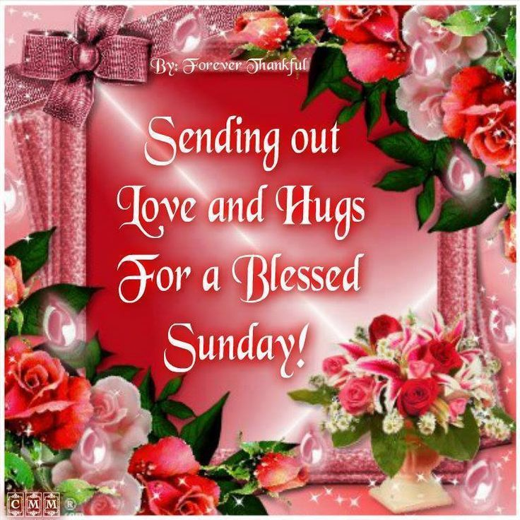 Sending Out Love And Hugs For A Blessed Sunday Pictures