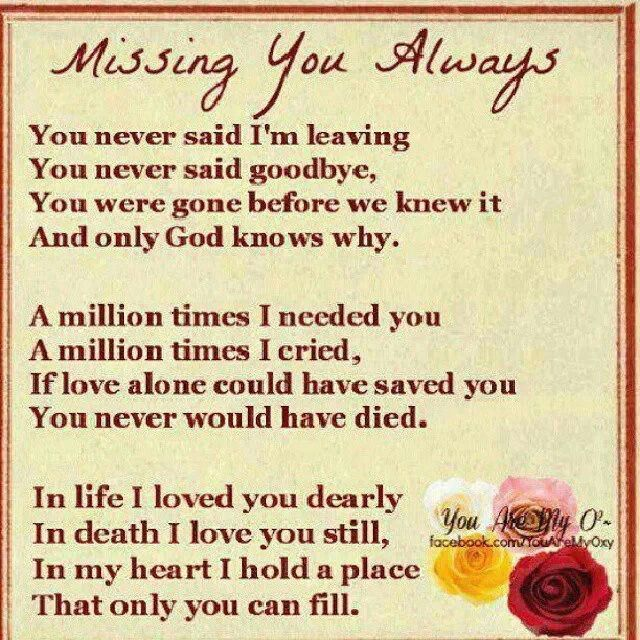 Missing You Always Pictures, Photos, And Images For