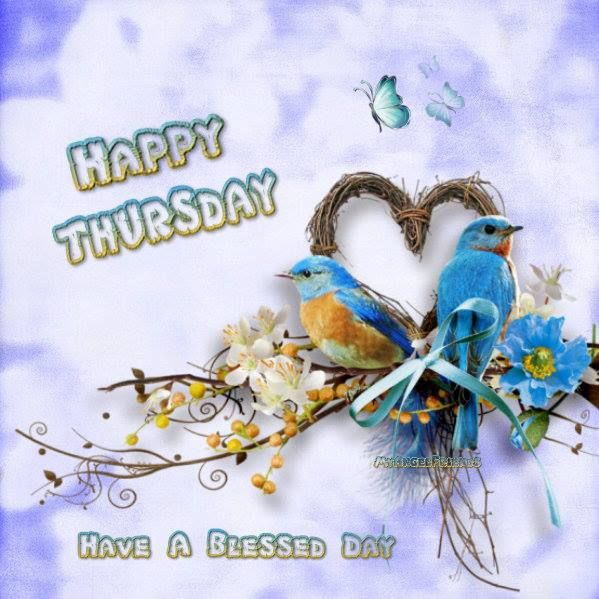 happy thursday have a blessed day image quote pictures