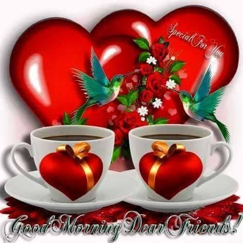 Good Morning Amore Mio : Good morning dear friends pictures photos and images for