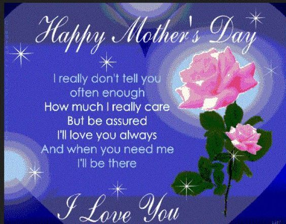 Happy Mothers Day I Love You Quote Pictures, Photos, and ...