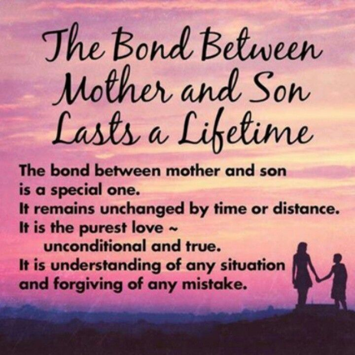 Mother Quotes Tumblr: The Bond Between Mother And Son Lasts A Lifetime Pictures