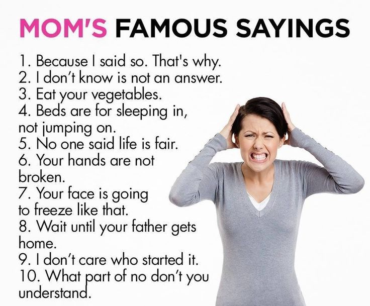 68 Best Funny Quotes Images On Pinterest: Mom's Famous Sayings Pictures, Photos, And Images For
