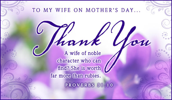 To My Wife On Mother's Day Pictures, Photos, and Images for