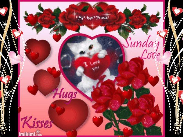 Sunday Love Hugs And Kisses Pictures, Photos, and Images for Facebook ...