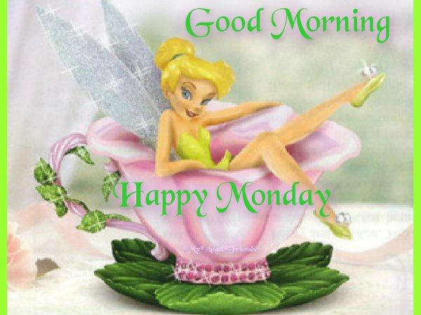 Good morning happy monday tinkerbell pictures photos and - Good morning monday images ...