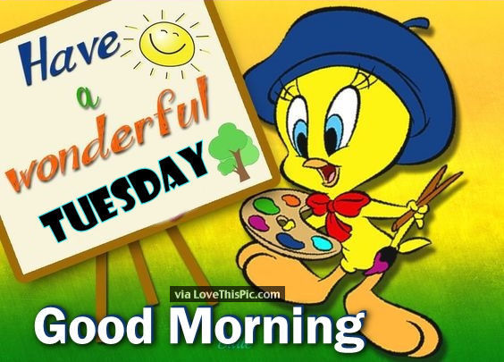 tweety bird good morning tuesday quote pictures  photos clipart father's day for husband clipart father s day
