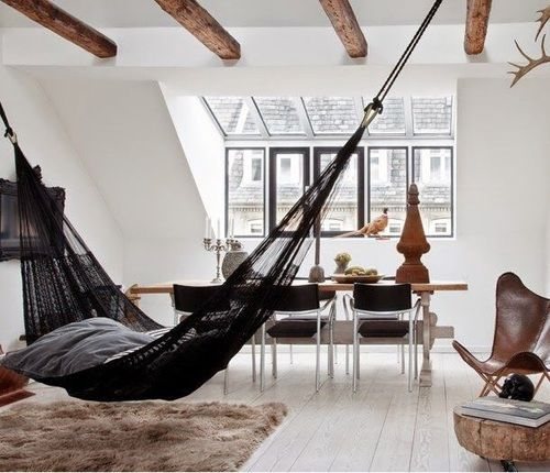 Hammock Living Room Decor