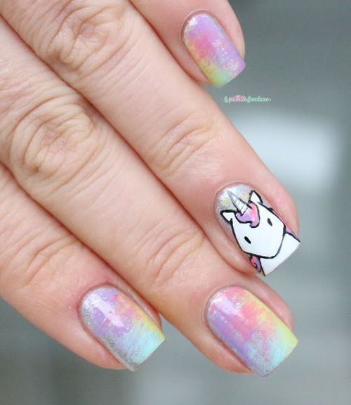 Unicorn Nails Design Pictures Photos And Images For Facebook
