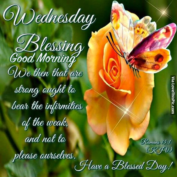 Good Morning Wednesday Blessings Images : Wednesday blessings good morning pictures photos and