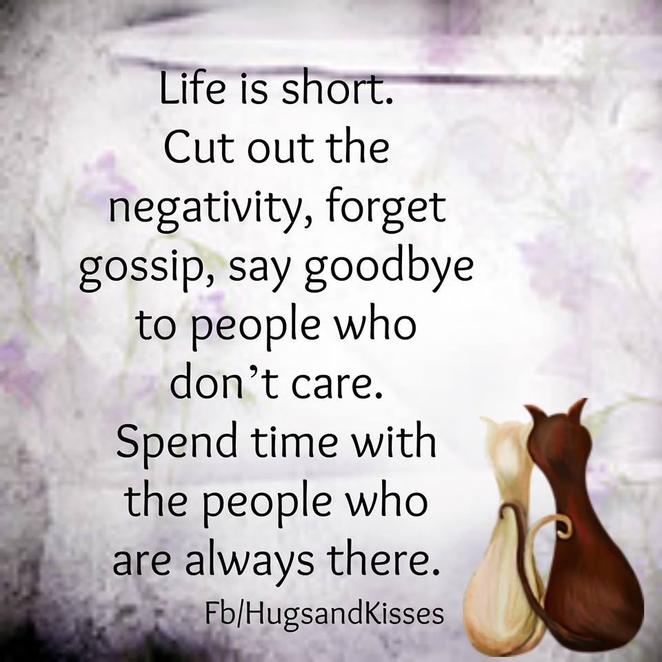 Inspirational Quotes About Life Lessons Life Is Short Cut Out The Negativity Pictures Photos And Images