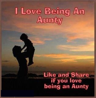 i love being an aunty