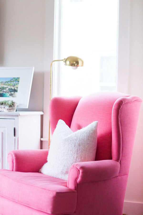 Pretty Pink Living Room Chair Pictures, Photos, and Images for ...