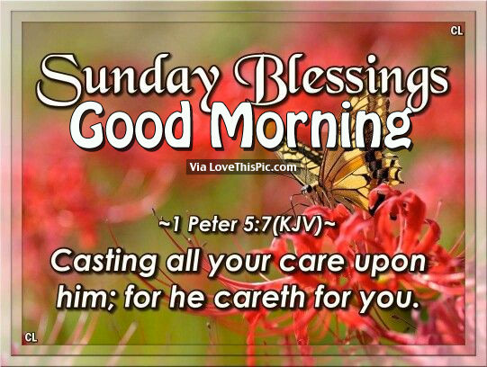 Sunday Blessings, Good Morning Pictures, Photos, And
