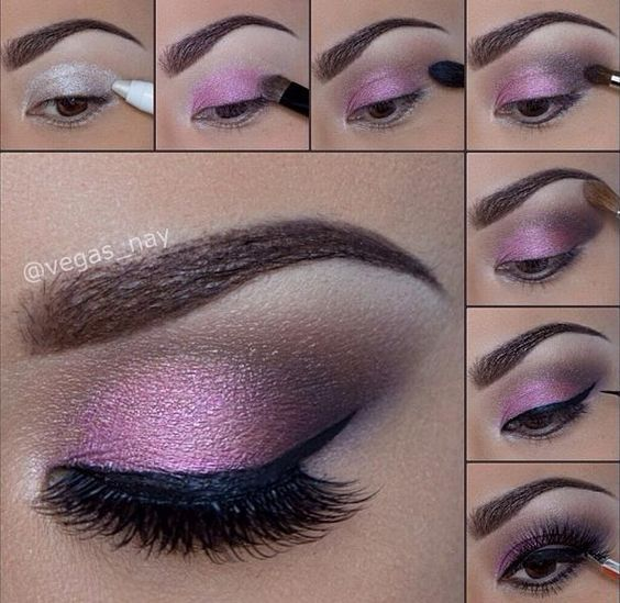 Purple Eye Makeup Tutorial Brown Eyes Pictures, Photos, and Images ...