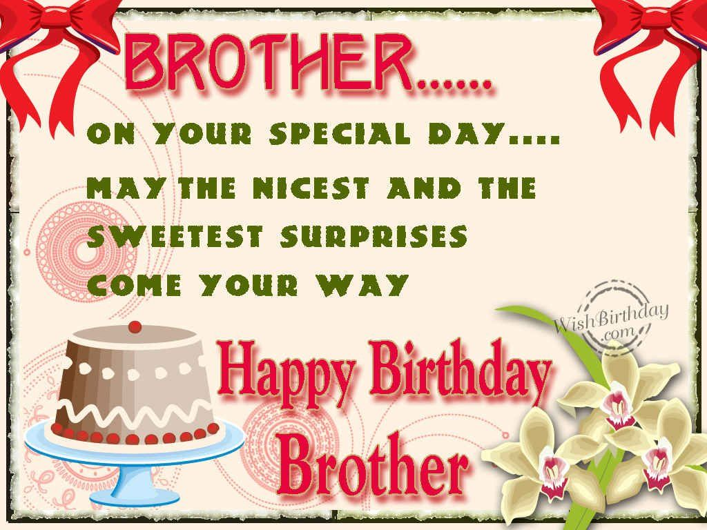 Happy Birthday Brother Pictures, Photos, and Images for ...