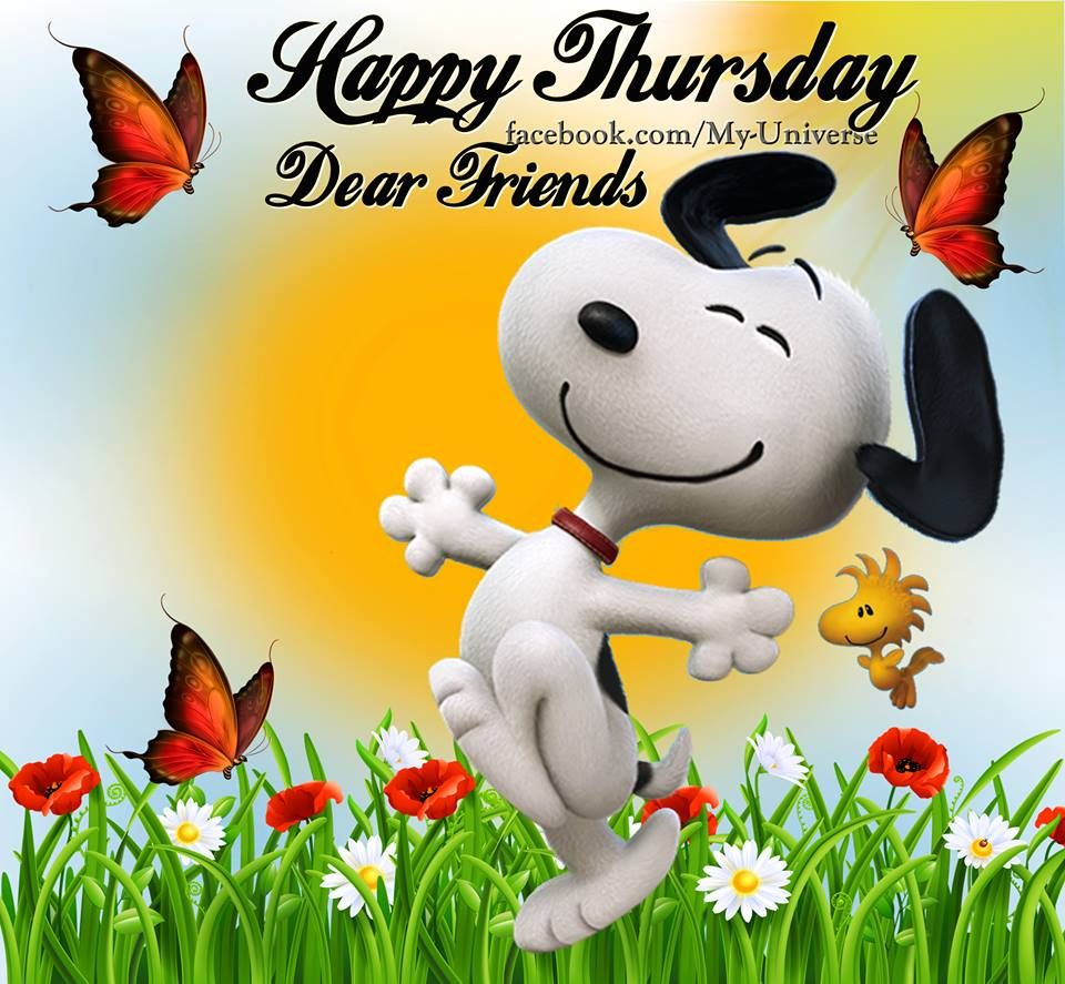 happy thursday dear friends snoopy quote pictures photos and rh lovethispic com happy thursday clipart images happy thursday clip art images