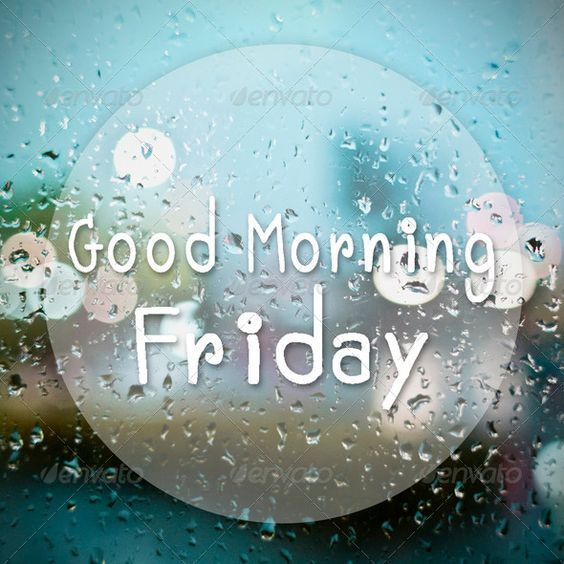 Cute Rainy Day Quotes: Rainy Good Morning Friday Quote Pictures, Photos, And