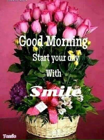 Good Morning Flowers Start Your Day With A Smile