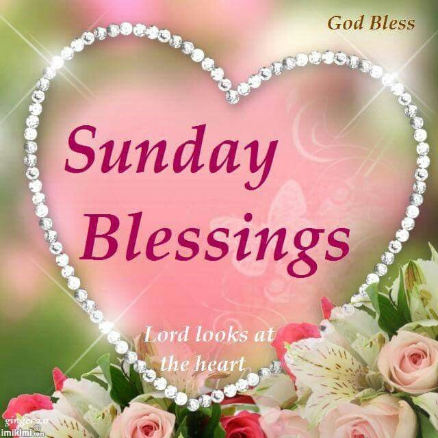 Sunday Blessings Pictu...