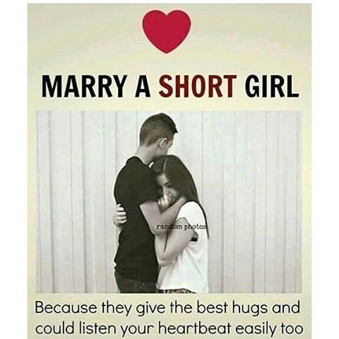 Short Girl Quotes Marry A Short Girl Pictures, Photos, and Images for Facebook  Short Girl Quotes
