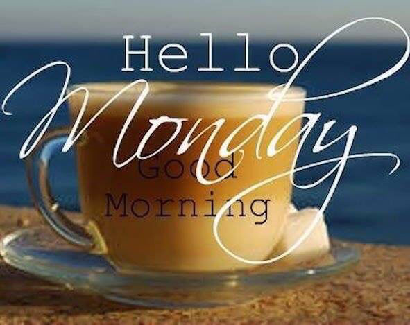 Good Morning Quotes Monday : Hello monday good morning coffee quote pictures photos